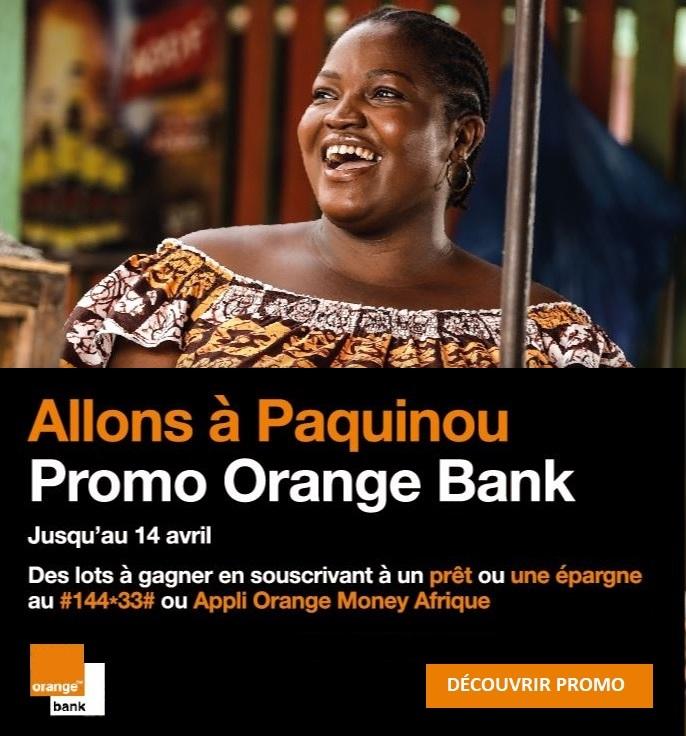 Promotion Orange Bank Paquinou Tik Tak