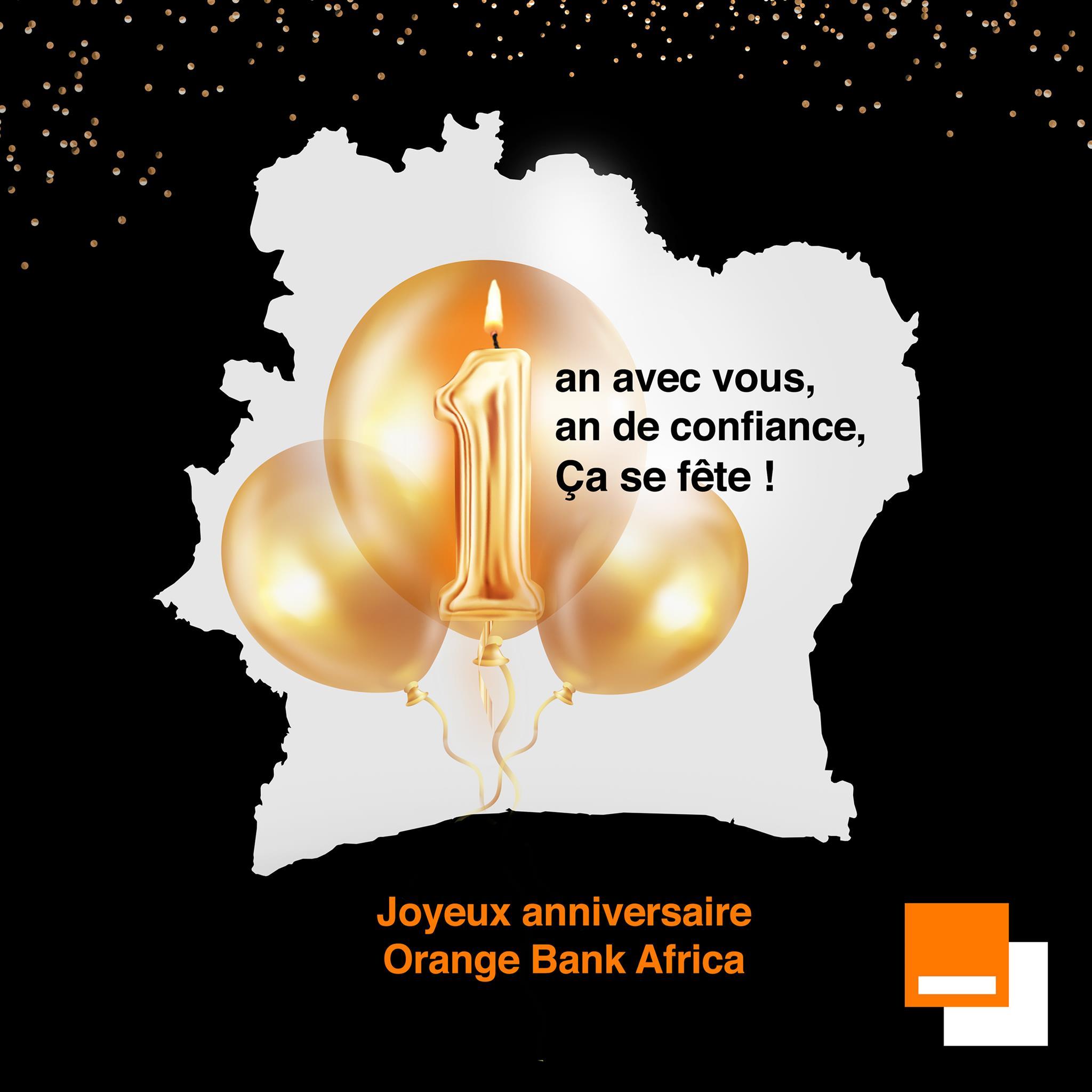 Anniversaire Orange Bank